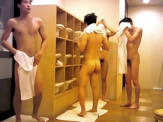 0063 0063 Handsome Japanese In Locker Room handsome